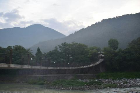 橋 白川村
